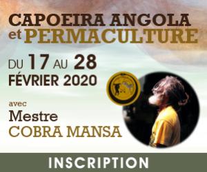 Capoeira Angola et Permaculture avec Mestre Cobra mansa