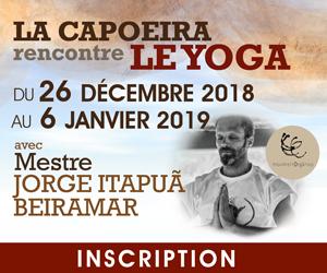 La Capoeira rencontre le Yoga avec Meste Jorge Itapuã Beiramar